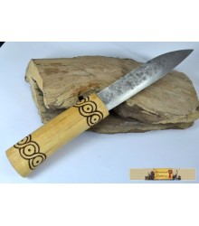 MORAVIA MAGNA, hand forged early medieval knife