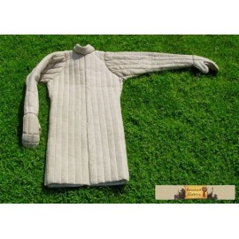 Gambeson with mittens
