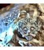 VIKING HEAD PENDANT, Gnezdovo, silver 925
