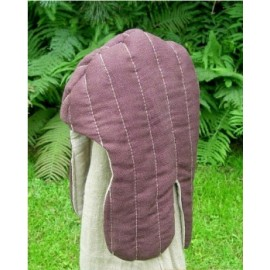 "Quilted hood ""early"""