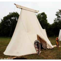Early medieval ridge Saxon Geteld Tent 3 x 5,5m - cotton