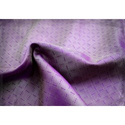 Zapisz Hand woven silk fabric from Birka (grave no 944), violet and gold
