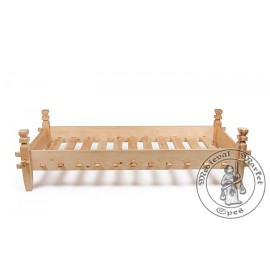 Historical bed type 1 - Pine