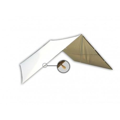 Tarpaulin / Shed with loops, different sizes - cotton
