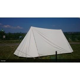 Saxon / Norman Tent 3 x 5 m - impregnated COTTON