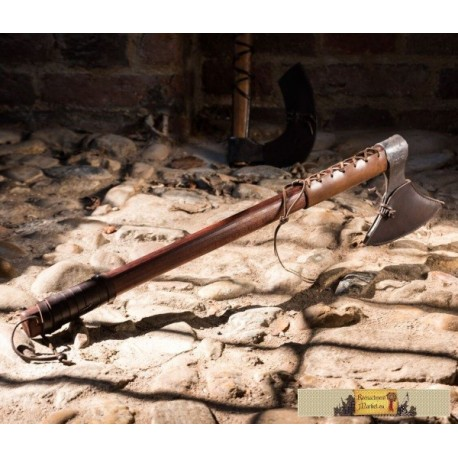 HRAFN, forged Viking Axe