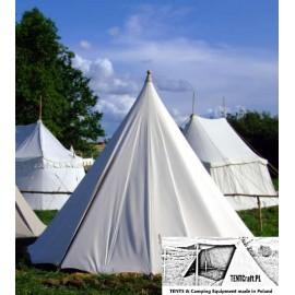 Cone Tent 6 m diameter - cotton