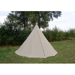 Cone Tent - 4 m diameter x 2 m high - LINEN