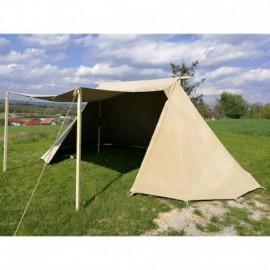 Geteld Tent - 4 x 8 - linen