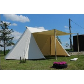 Saxon Geteld Tent 5 x 8 m - cotton