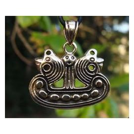 Lillevang Ship, viking bronze pendant