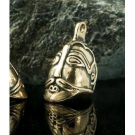 ASKA - VIKING PENDANT, X century, bronze