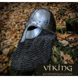 HJALMAR, viking helmet 2mm, riveted aventail