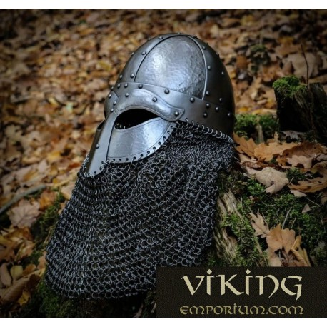 HJALMAR, viking helmet 2mm, riveted aventail