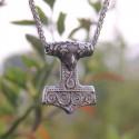 Viking Raven Mjolnir thor hammer stainless steel