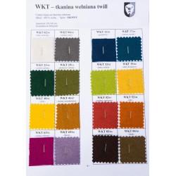 Thin, flowing woolen fabric 260 g/m2