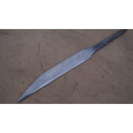 Pattern welded seax blade