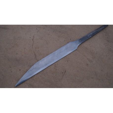 Pattern welded seax blade