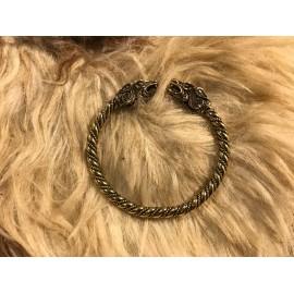 Viking bracelet. Stylization Bronze