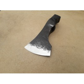 Hand forged axe