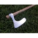 Hand forged axe Extremely light, made of tough carbon steel. Ash handle, made in medieval way. Slavic, X cen.