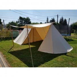 Merchant Geteld Tent - 4 x 7 m - WOOL