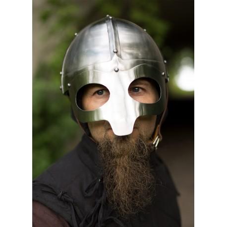 Viking Mask Helmet, LARP Helmet