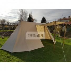 Merchant Tent 3 x 5,5 m - cotton