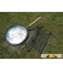 Hand forged camp set nr 1.