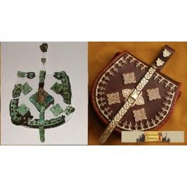 Jamtland Birka Bronze Bag plates set